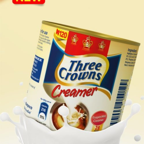 Three Crowns Evap Creamer, A Value And Quality Proposition To Struggling Families photo