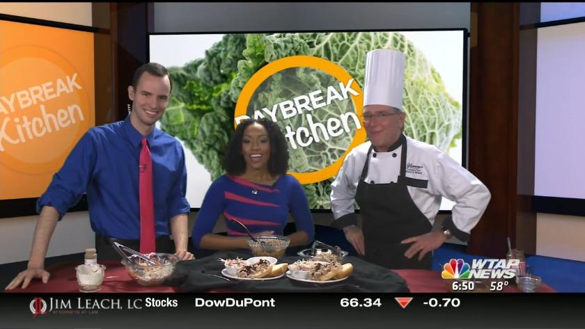 Daybreak Kitchen Recipe: Chef Yancy's Pulled Pork Sandwich & Special Bbq Sauce photo