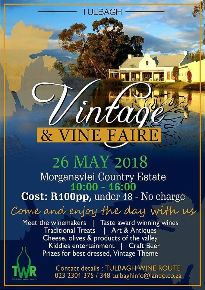 unnamed 8 Join Waverley Hills at the Vintage and Vine Faire in Tulbagh