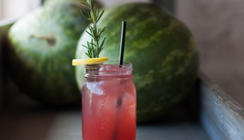 Your Bbq Needs This Refreshing Whiskey And Aperol Watermelon Sling photo