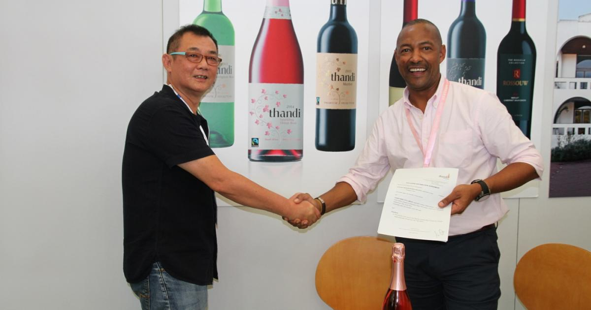Sa Winemaker Scores Massive Export Contract With China photo