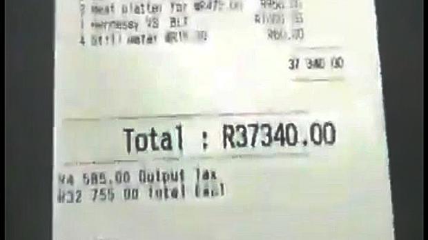 Club Says R37 000 Binge Bill Paid photo