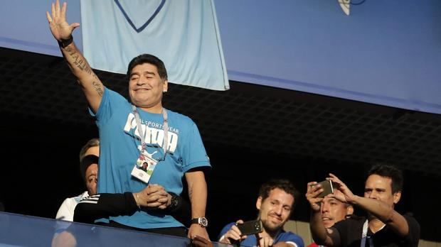 Diego Maradona Blames White Wine For His Health Scare At The #fifaworldcup photo
