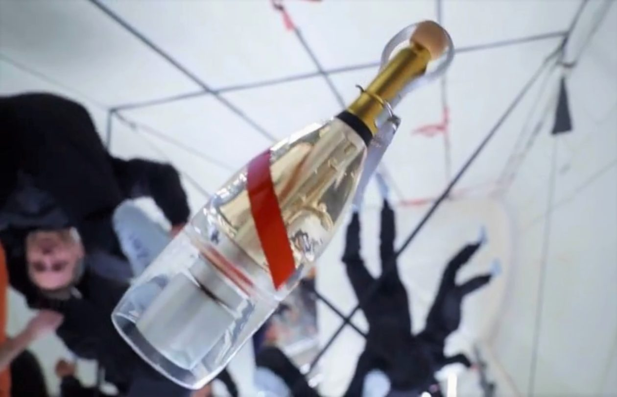 How Can You Drink Champagne In Zero-g? Winemaker Builds A Bottle To Find Out photo