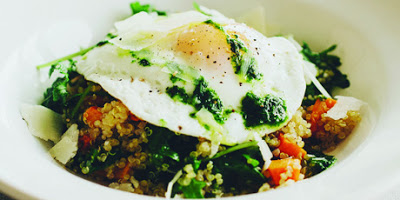 Golden Quinoa And Butternut Breakfast Bowl photo
