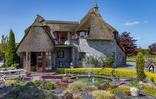 This 'fairy Tale House', Designed By The Owner, Up For Sale For Same Price As City Semi-d photo
