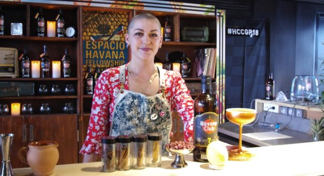 Newcomer Ninon Crowned Havana Club Cocktail Champ photo
