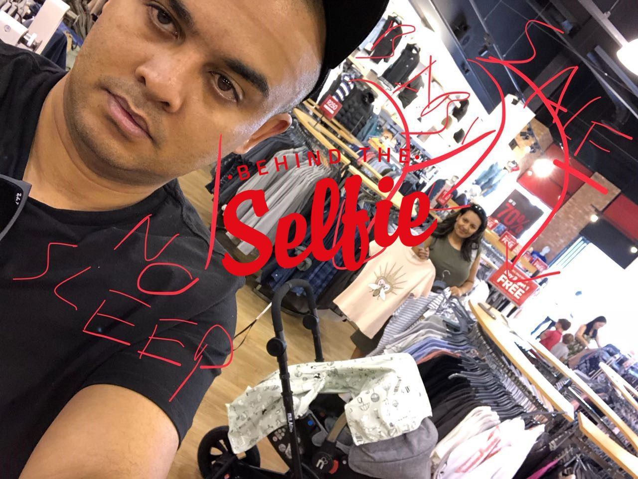 #behindtheselfie With… Alfred Adriaan photo