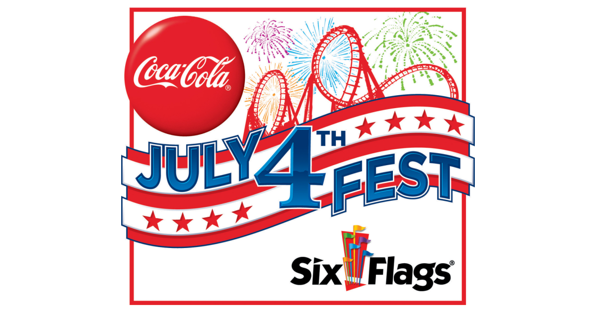Coca-cola July 4th Fest At Six Flags Expands To Five Nights Of Fireworks June 30?july 4 photo