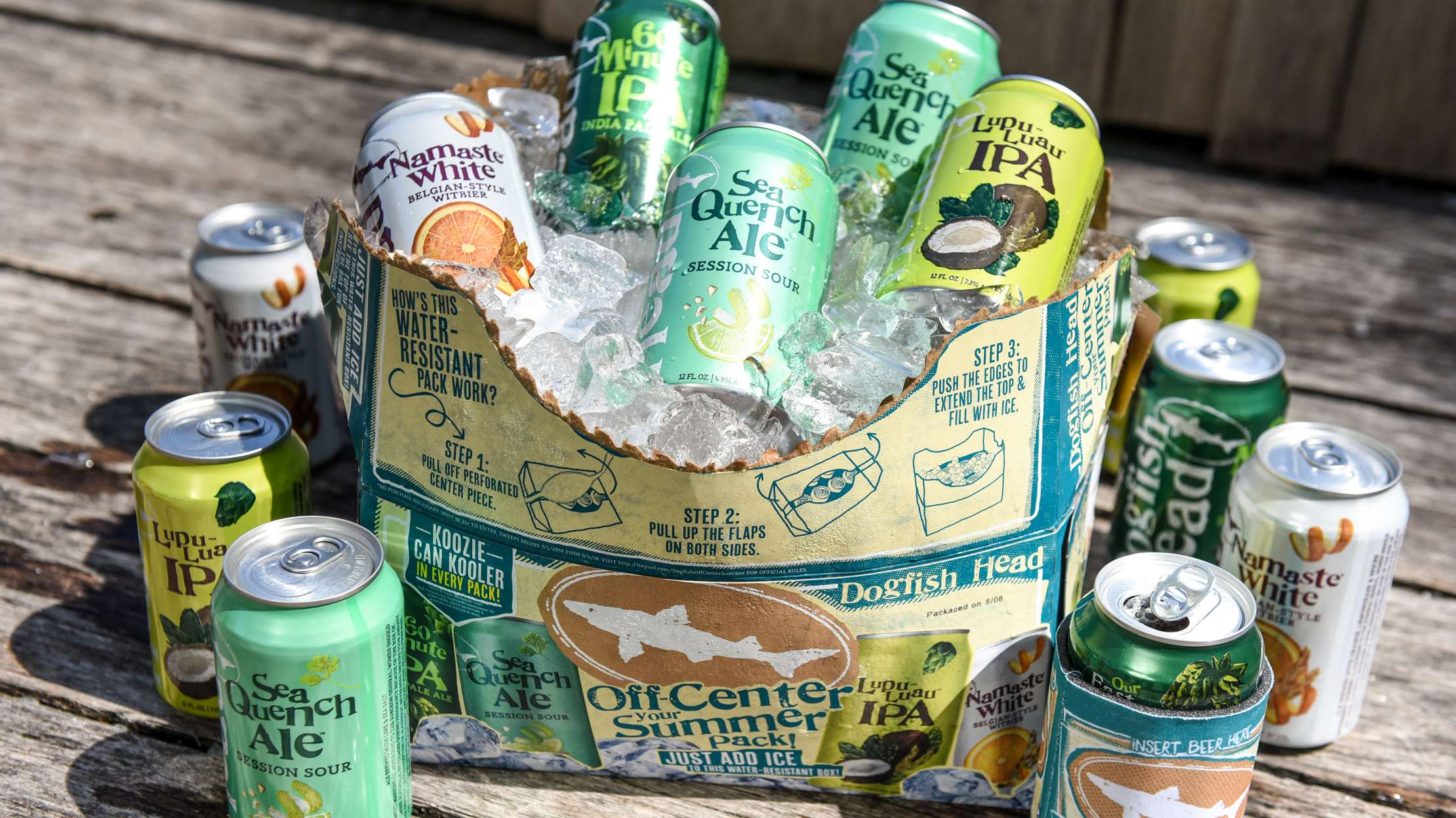 Dogfish Head's New Beer Packaging Doubles As A Cooler photo