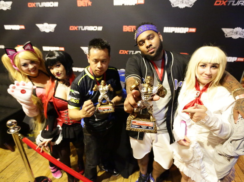 Ad & Jackie Tran Conquer Dx Turbo Iii: Rappers Vs. Gamers Hosted By Bet & Wingstop photo