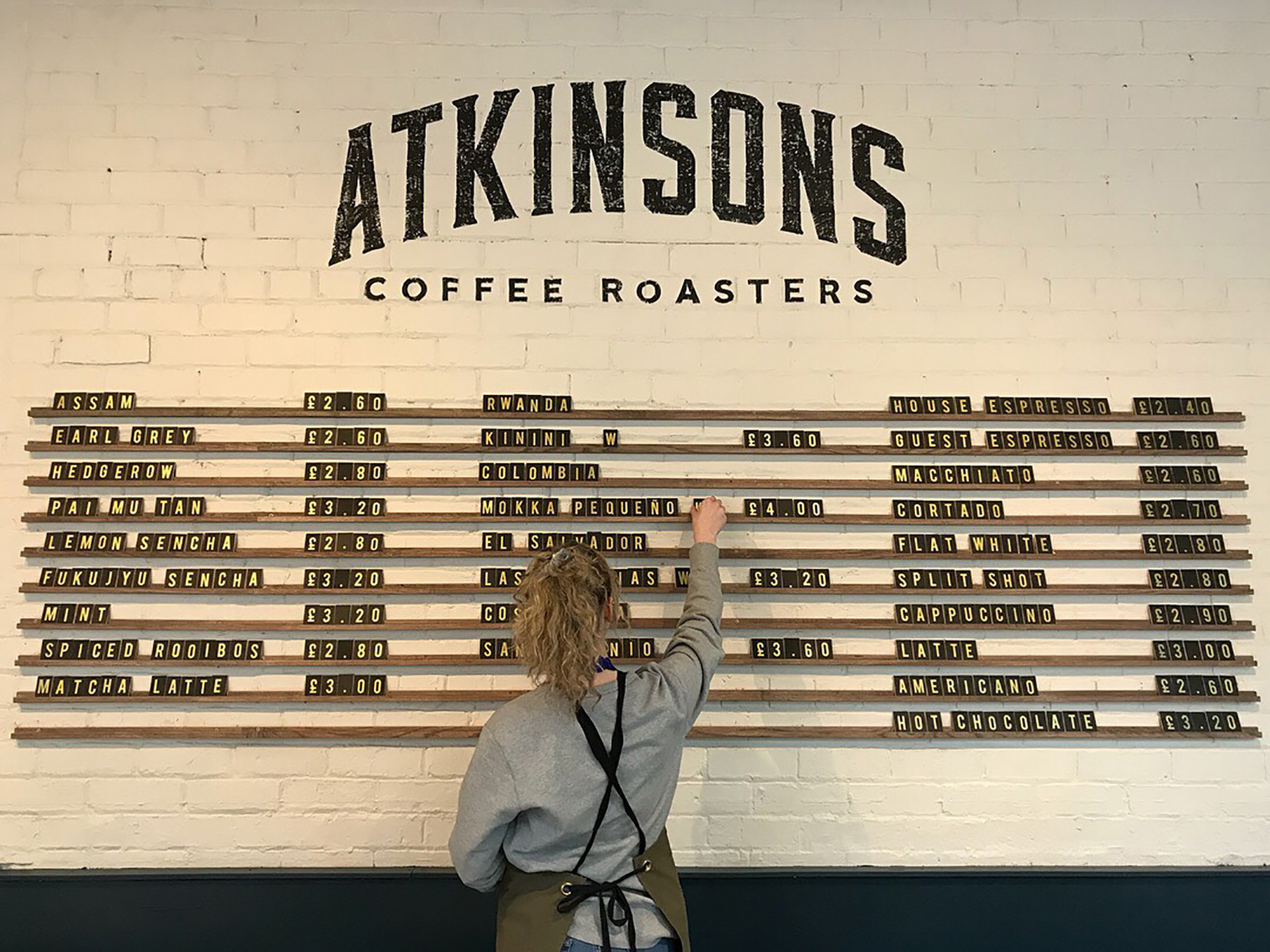 Build-outs Of Summer: Atkinsons Coffee Roasters In Manchester, England photo