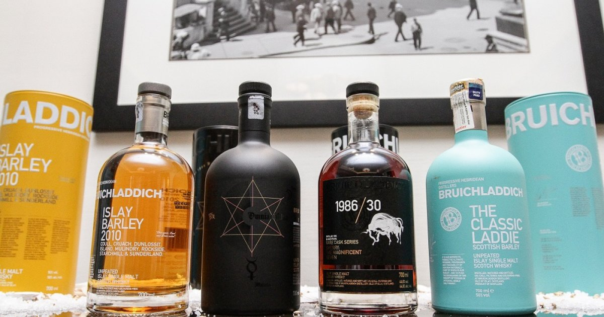 The Ultimate Drink: Rare Cask Whisky Series From Bruichladdich photo
