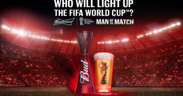 Budweiser Is Ready To 'light Up The Fifa World Cup' On Twitter, Facebook And Instagram photo