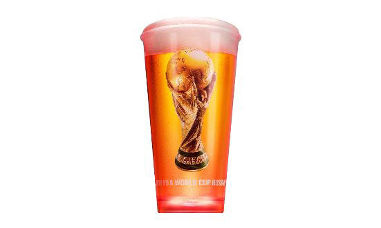 World Cup Watch: Budweiser Lights Up The Action With Noise-activated Cups photo