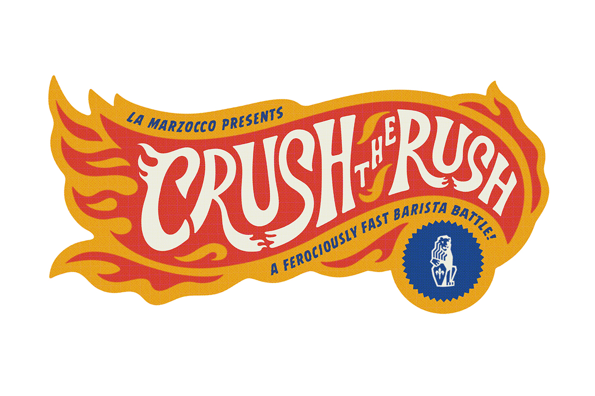 Crush The Rush: A Ferociously Fast Barista Battle From La Marzocco photo
