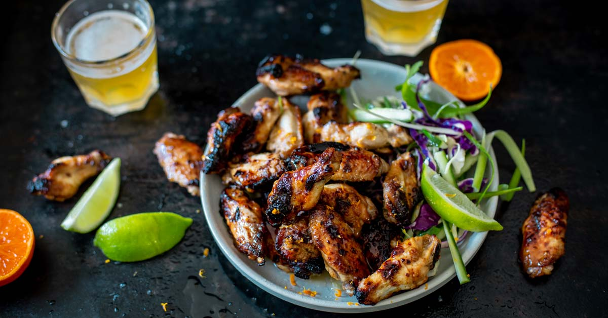 Sticky Clemengold, Chilli And Ginger Chicken Wings photo