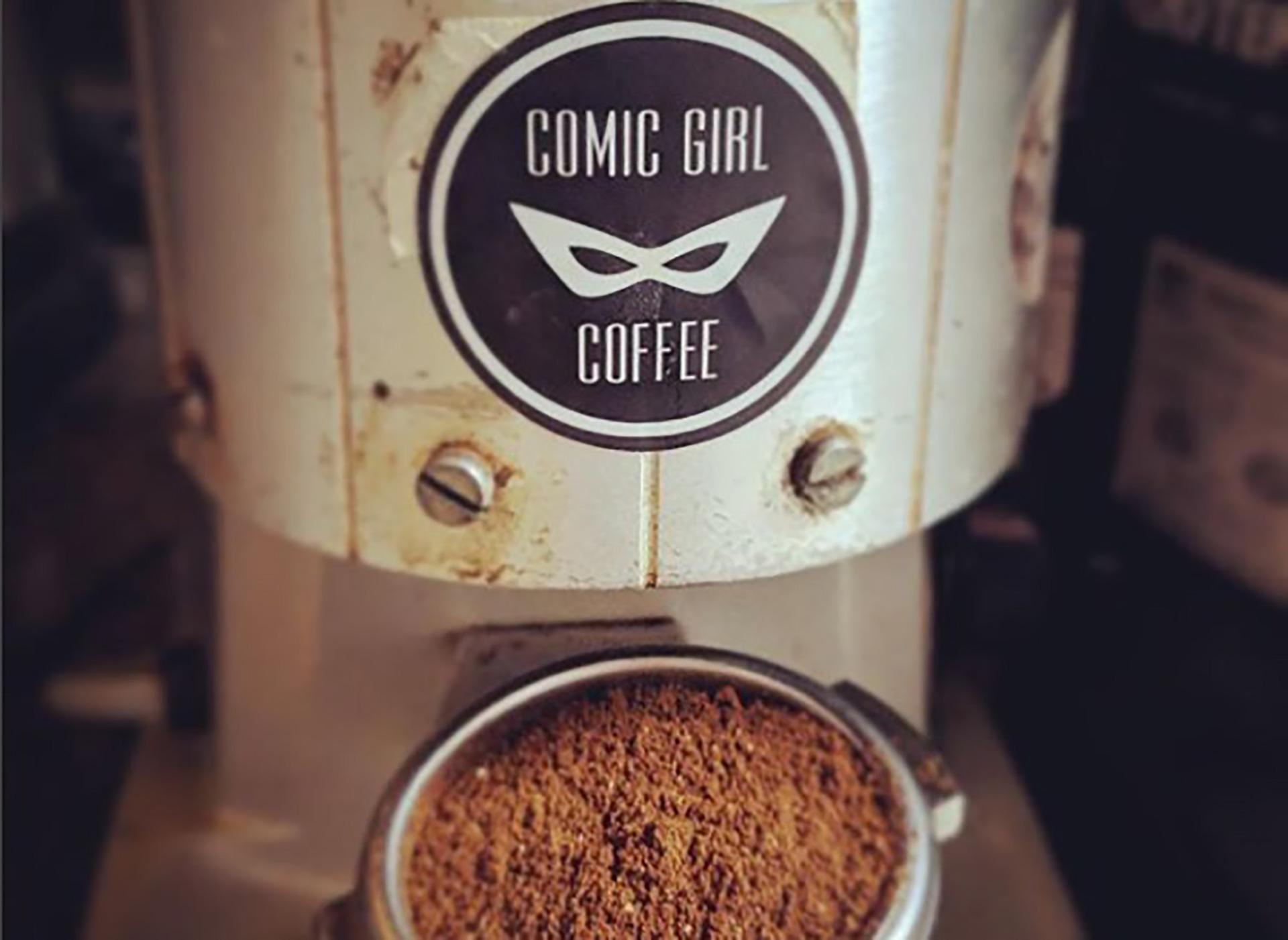 Boom! Pow! Charlotte's Comic Girl Coffee Fights For Inclusivity photo