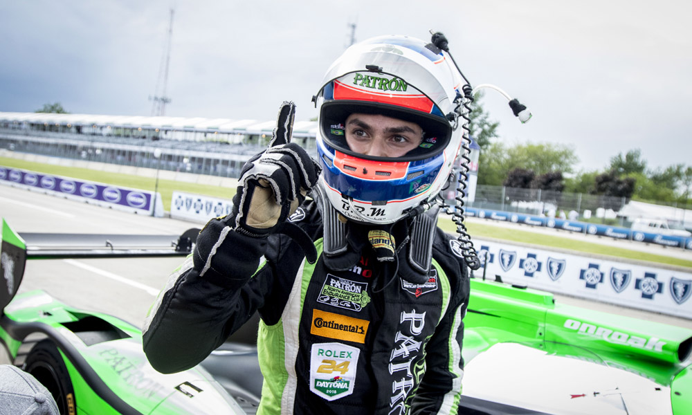 Derani Scores Detroit Pole For Esm photo