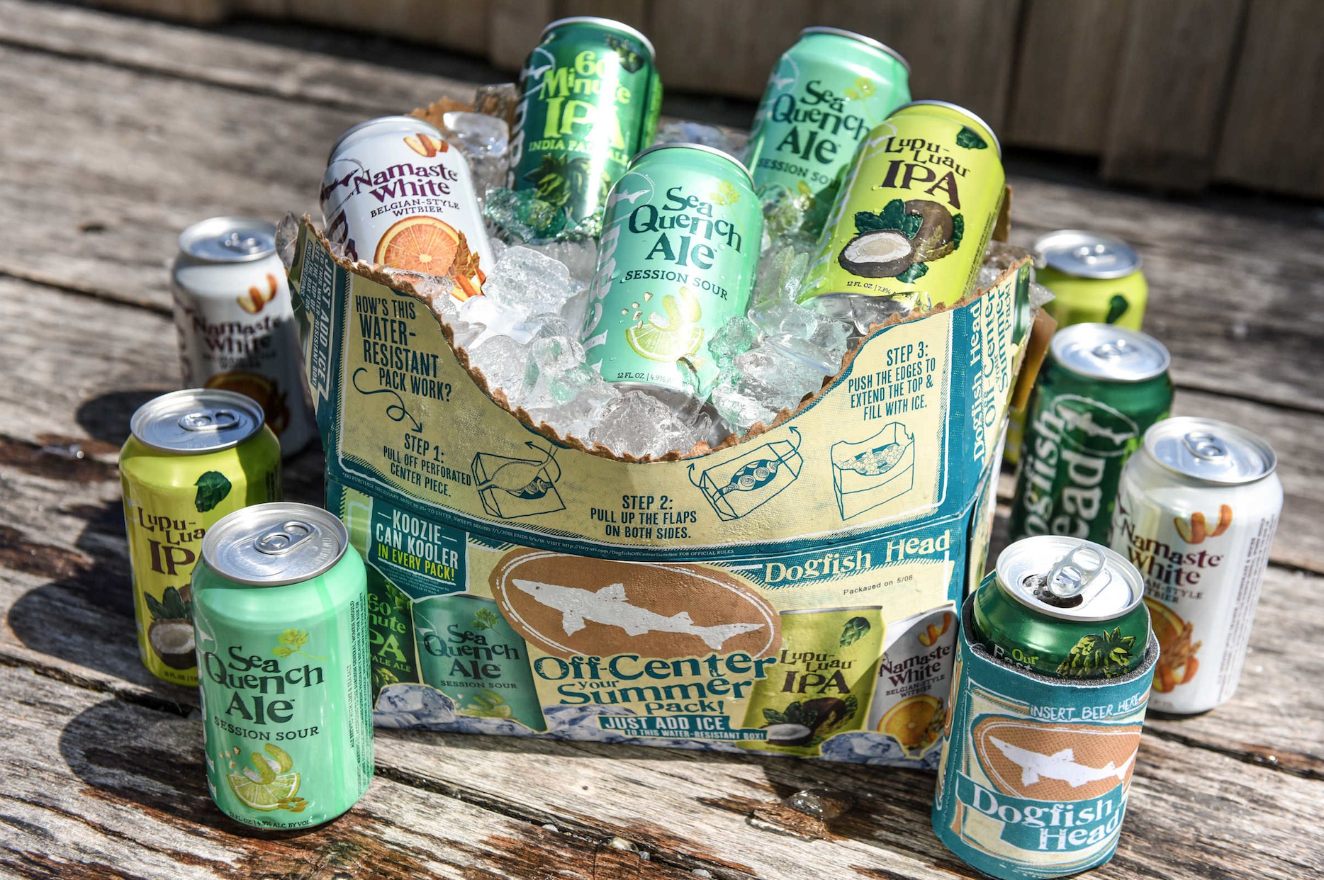 Dogfish Head Releases Off-center Your Summer Pack photo