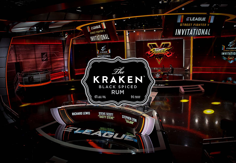 Eleague Signs Kraken Rum As Official Distilled Spirits Partner photo