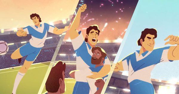 This Delightful Animated Spot Shows How Soccer (and Tequila) Brings Even Rivals Together photo