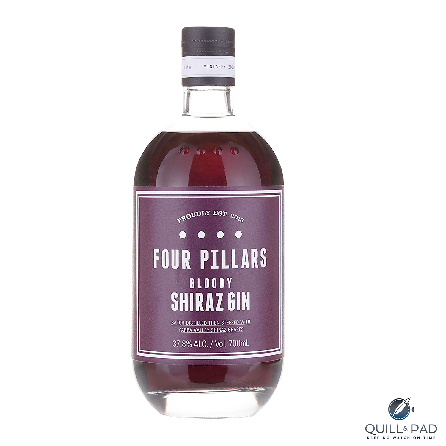 Four Pillars Bloody Shiraz Gin: Neon Purple And Guaranteed To Contain No Motorcycle Engine Parts photo