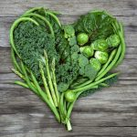 Broccoli salad with avocado dressing photo