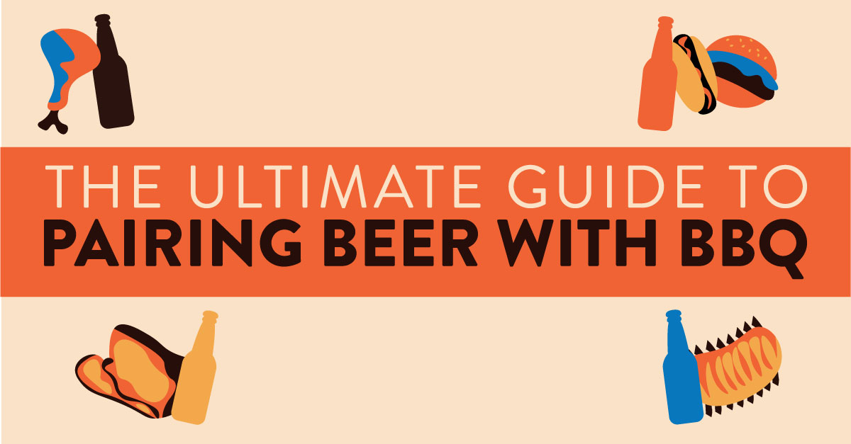 The Ultimate Guide To Pairing Beer With Bbq (infographic) photo