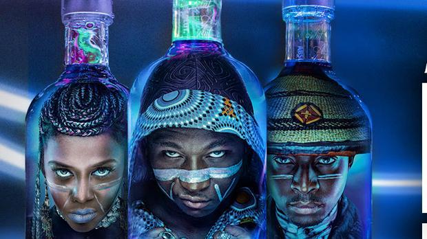 3 Local Stars Unveil Designer Vodka Bottles photo