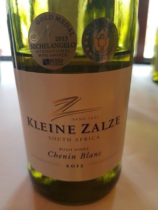 Kleine Zalze Cellar Selection Bush Vines Chenin Blanc 2013 photo