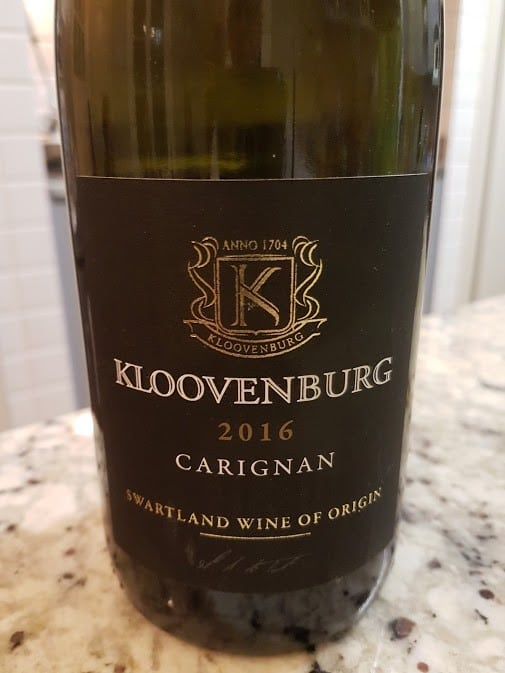 Kloovenburg Carignan 2016 photo