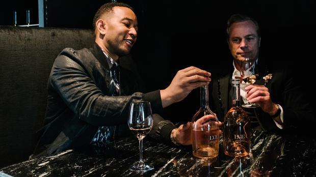 John Legend Has His Own Rosé Wine photo