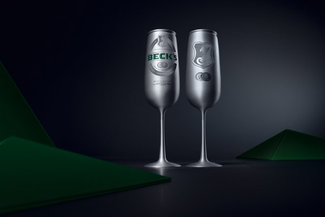 Beck?s Releases Beer Can Shaped Like A Champagne Flute photo