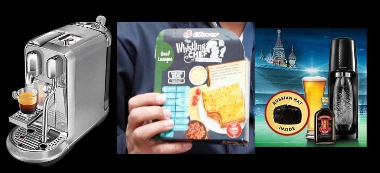 Shelf Life: Whistling Chef ? Russian Kit From Sodastream ? Creatista Plus photo