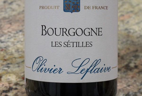 Olivier Leflaive Bourgogne Les Setilles e1466006346103 Britain goes wild for Burgundy wine served at Royal Wedding