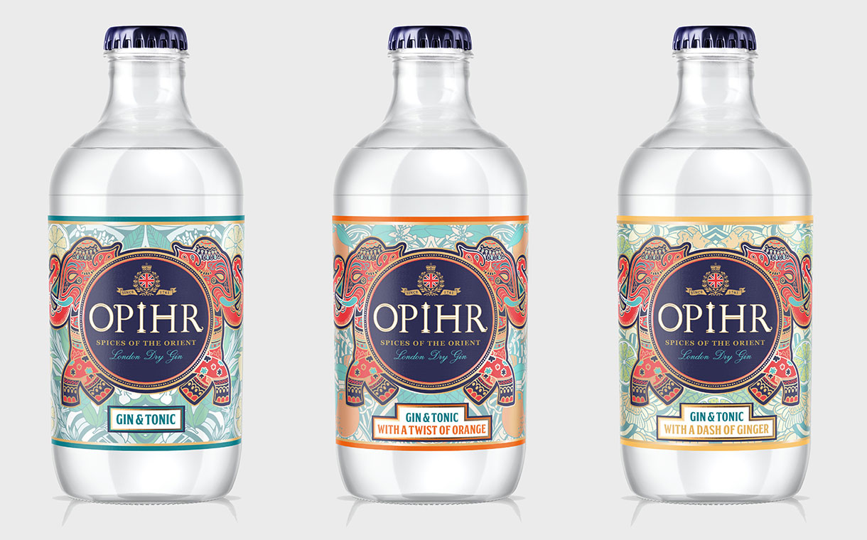 Opihr Gin Launches New Ready-to-drink Range In The Uk photo
