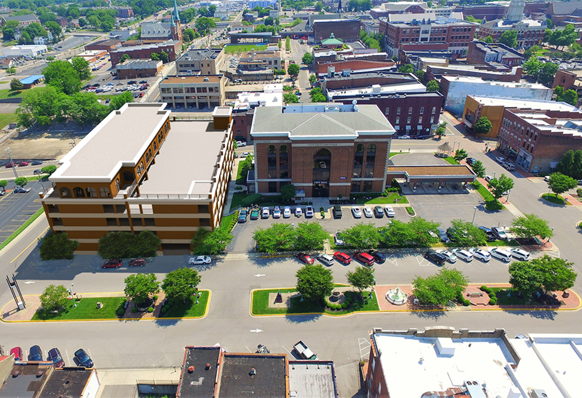 Mayor Proposes New Downtown Clarksville Parking Garage photo
