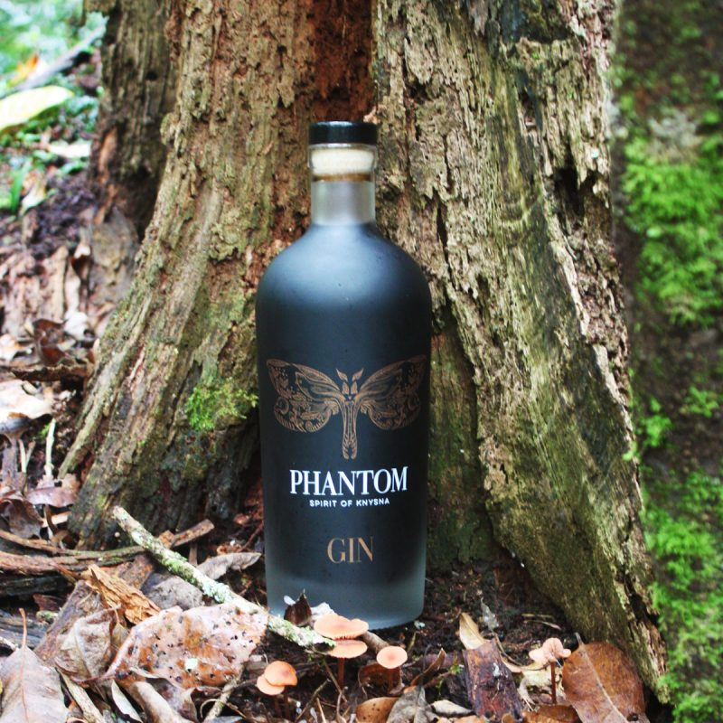 This mysterious new gin from the Knysna forest is jet black in colour photo