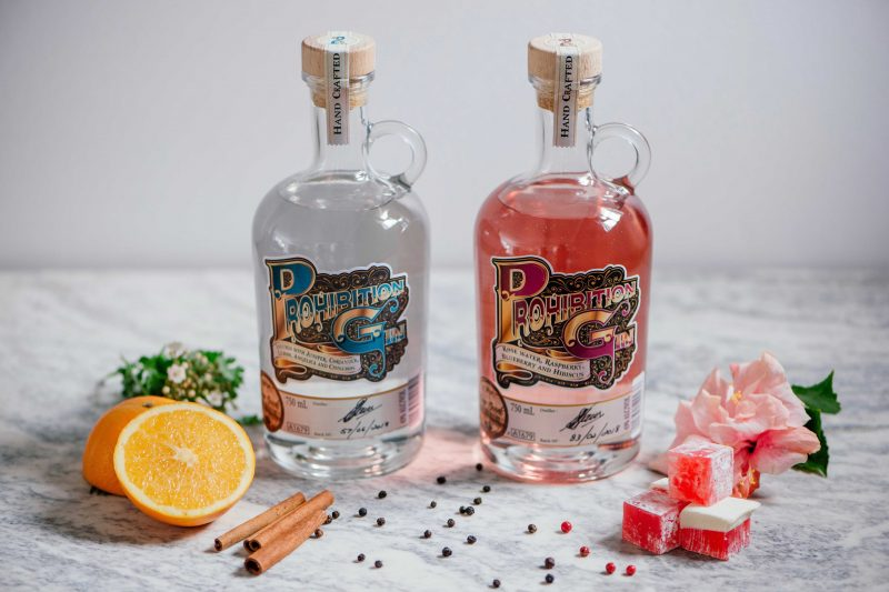 Silver Creek Distillery Launches Exciting New Prohibition Craft Gin Duo photo