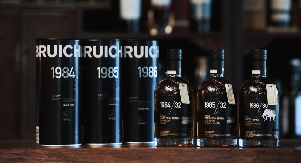 Bruichladdich Launch Rare Cask Series photo