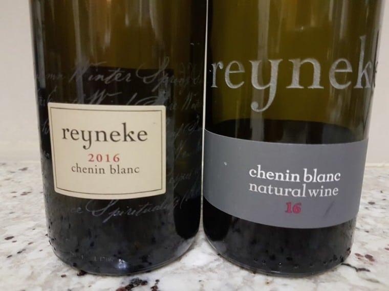 Reyneke Chenin Blanc 2016 Vs Reyneke Natural Chenin Blanc 2016 photo