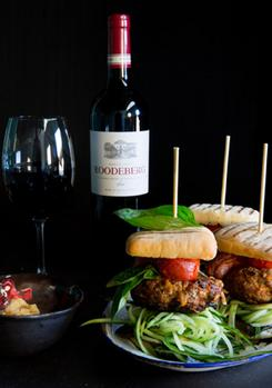 How To Pair A Classic South African Wine With Homemade Burgers And Buns photo