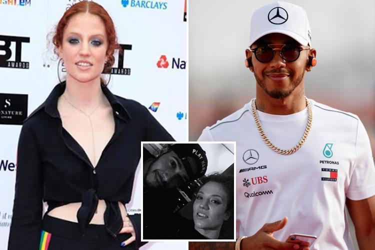 Lewis Hamilton Has Been Recording His Own Music With Popstar Jess Glynne photo