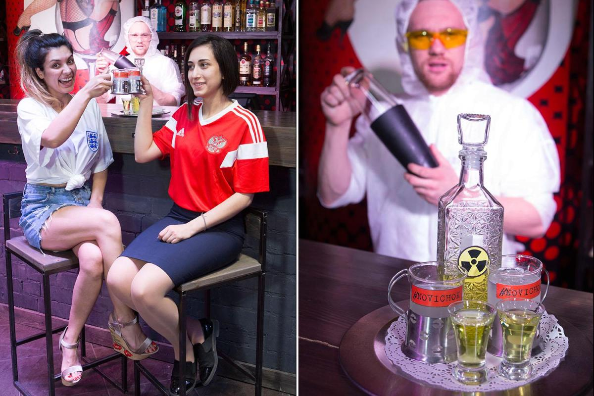 World Cup 2018: England Fans To Be Sold Sick Novichok Cocktails In Volgograd Before Tunisia Clash… Named After Deadly Nerve Agent photo