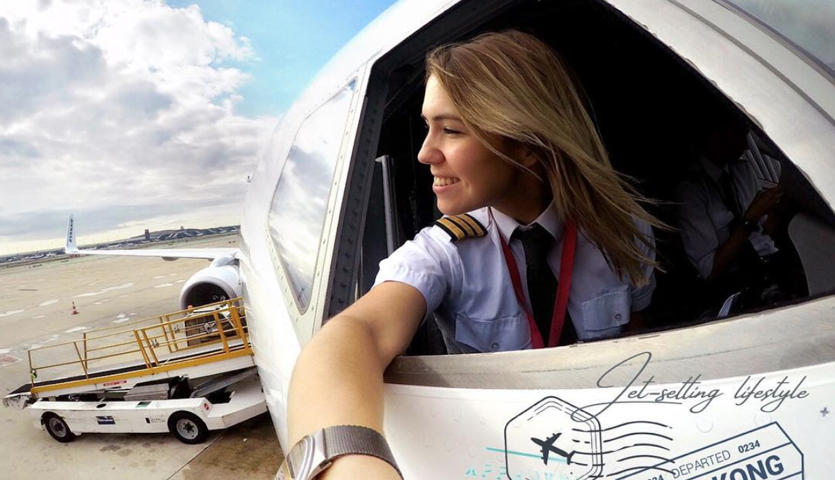 Meet Eva Claire Marseille, Airline Pilot And Instagram Star photo