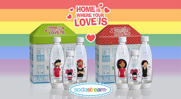 Sodastream Celebrates Pride Month With Limited Edition Bottles photo