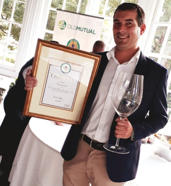 Diemersdal Estate Wins 3rd Trophy at Old Mutual Wine Show photo