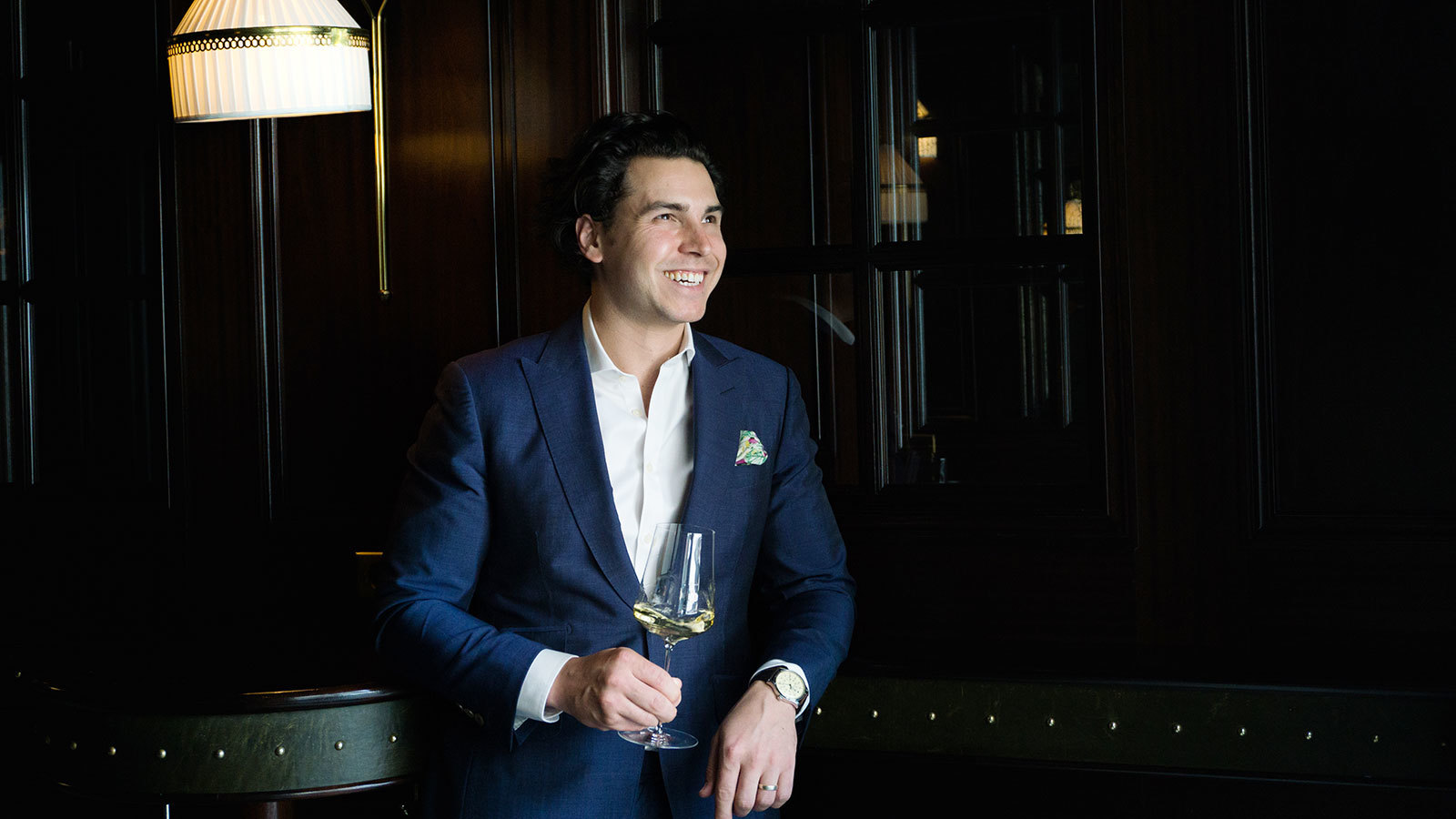 Sommelier Talk: Charming Guests And Championing The Finger Lakes: A Day In The Life Of The Nomad's Thomas Pastuszak photo
