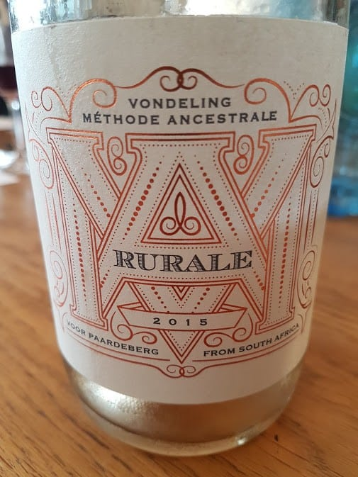 Vondeling Rurale Blanc De Noir 2015 photo